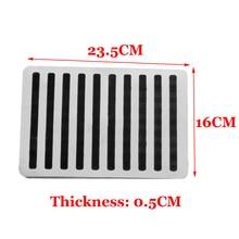 Universal Car Auto Floor Carpet Mat Patch Foot Heel Plate Pedal Pad 23.5X16cm
