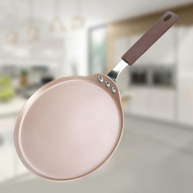 New Non Stick Stainless Steel Frying Pan Saucepan Oven Suitable Induction Wok Titanium Frying Pan Durable Safe Pancake Tools