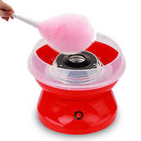 New 220V Marshmallow making machine Electric Cotton Candy Machine Sugar Cotton Candy Maker Party Diy Red Eu Plug