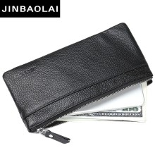 цена на Luxury Brand Men Wallets Long Men Purse Wallet Male Clutch Leather Zipper Wallet Men Business Male Wallet Coin Pocket Clutch Bag