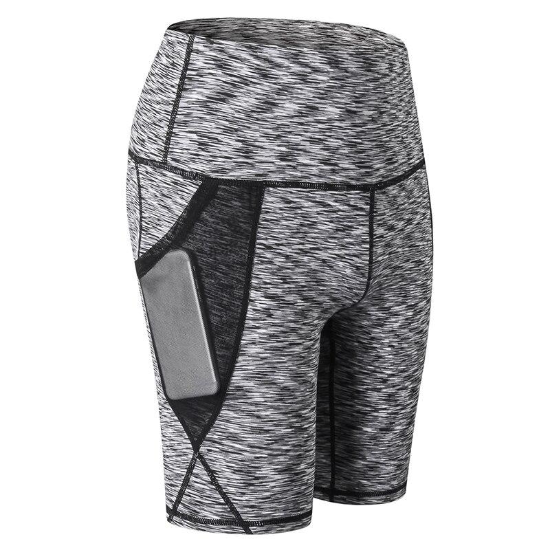 Women Sports   Shorts   Mesh Pockets   Short   Sportswear Fitness Skinny Bodycon Trousers 2019 New   Shorts