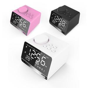 Image 4 - Altavoz portátil X11 inteligente reloj despertador Digital resistente al espejo reproductor Bluetooth Estéreo Hd suena ejercicios oficinas en casa