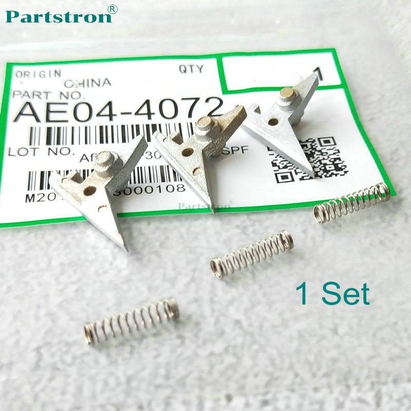 1Set Upper Picker Finger With Spring AE04-4072 For Use In Ricoh MP301SP MP301SPF Copier Parts