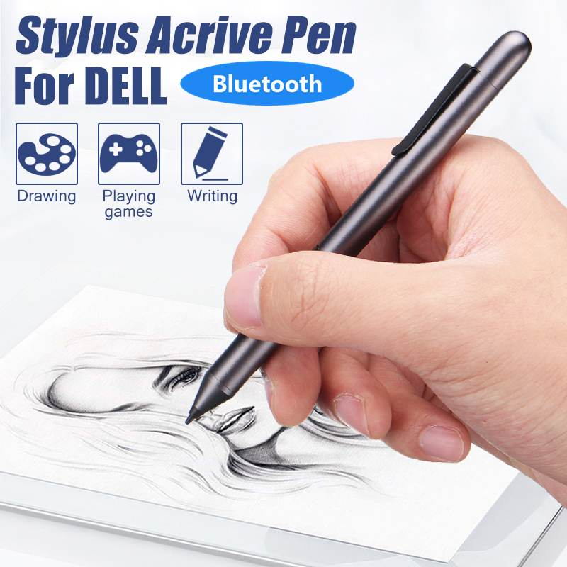 Active Stylus Pen Capacitive Touching Screen Tip For Dell Xps12 Xps13-9365 PN556W Windows 8 10 Tablet Touching Stylus