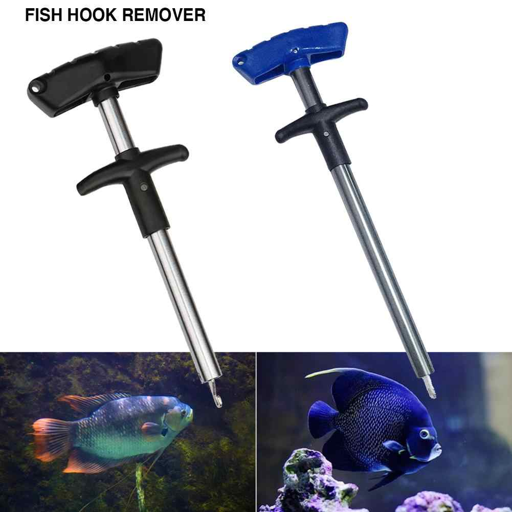 New Style Easy Fish T-type Fishing Hook Remover Fishing Tool Minimizing Injuries Tools
