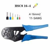Hsc8 16 4 4 16mm2 11 5awg Mini Crimping Plier Type Self Adjustable Terminals Crimper Tools Tube Terminal Crimp Plier Tool