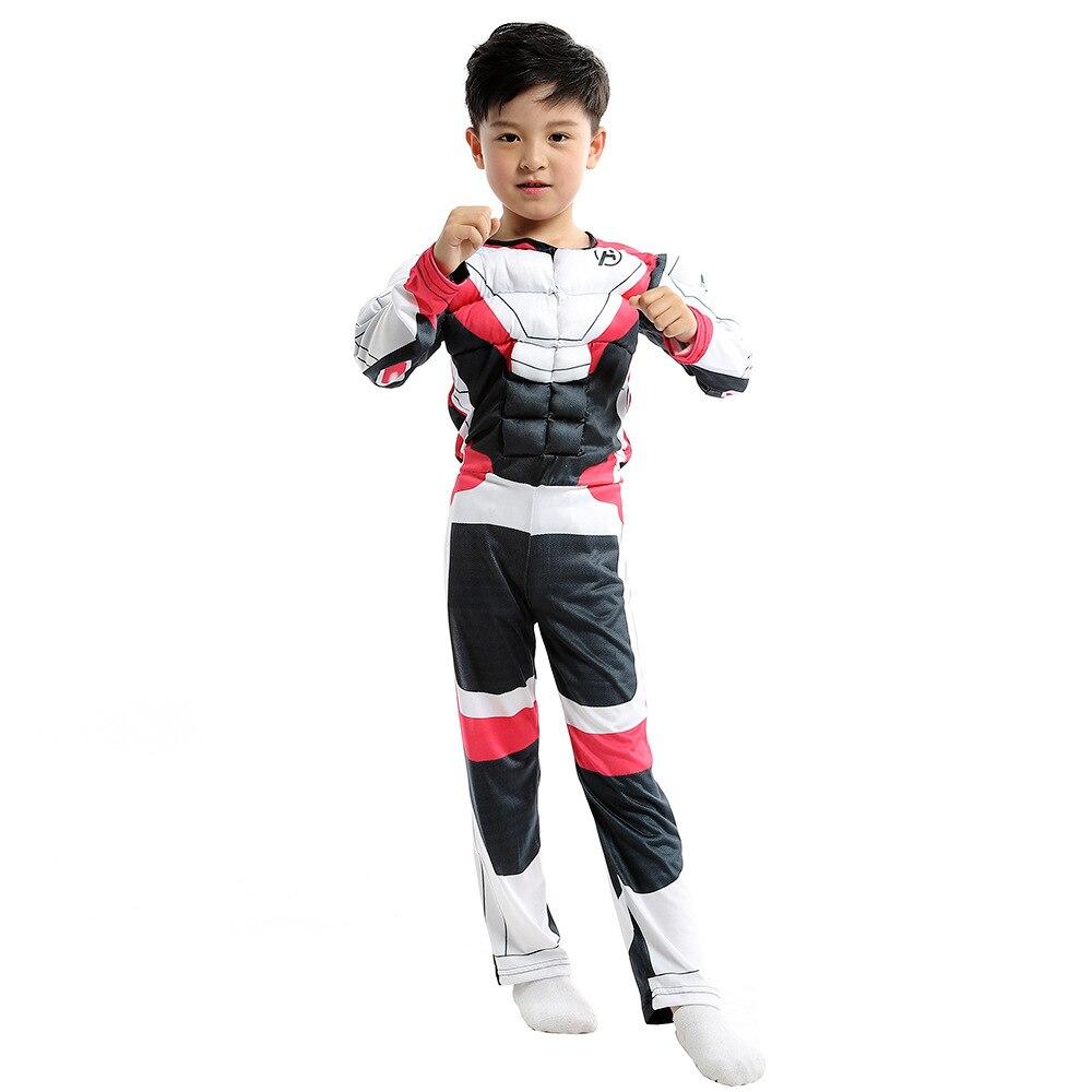 Child Boys Endgame Quantum Realm Costume Movie The Avengers Superhero Fantasia Fancy Dress