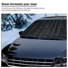 Лобовое стекло для автомобиля, защита от снега, защита от льда, защита переднего и заднего ветрового стекла, защита от снега, защита от солнца
