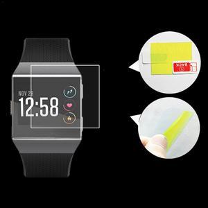 Image 3 - Gorąca sprzedaż 2 sztuk inteligentna bransoletka HD przeciwwybuchowe Ultra cienkie ekrany ochronne wyraźny widok dla Fitbit Ionic Smartwatch nowy 2019