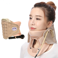 MOKARLE Inflatable Cervical Neck Traction Massager Adjustable Neck Stretcher Collar SpineTherapy Device Health Care Relaxation