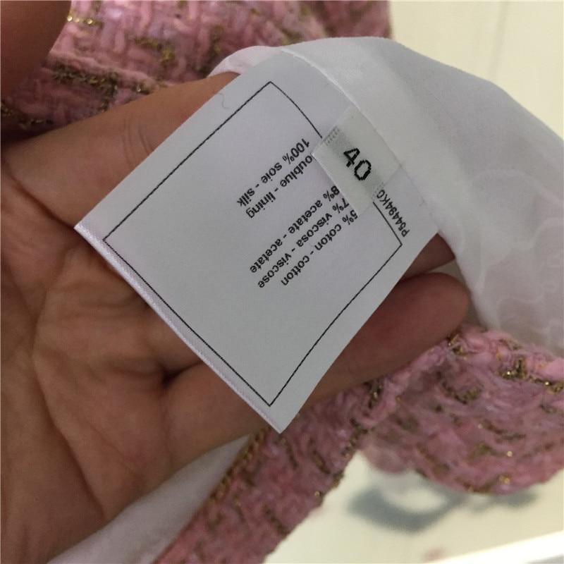 Mélanges Solide Femmes ligne Cachemire Mode Unique Supérieure Outwear De Pour Manteau Pink Les 2019 Nouveautés A Rose Qualité Poitrine 8xZXwYx
