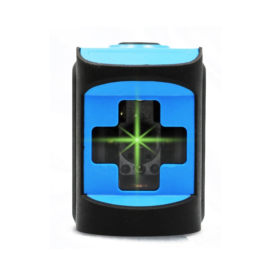 ミニポータブル 3D レーザーレベル 360 レベリングユニット垂直交差 2 ラインレーザーレベルグリーン計ドロッププルーフ自動ライン  グループ上の ツール からの レーザーレベル の中 1
