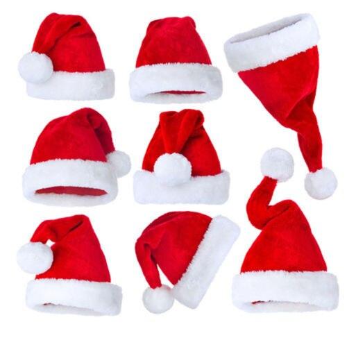 Christmas Unisex Hat XMAS Santa Family Gift For Adult Kid Baby Cute Caps