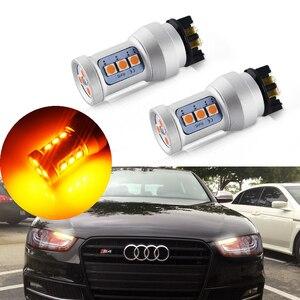 Светодиодный фонарь PWY24W PWY24W для Audi A3, A4, A5, Q3, MK7, Golf, CC, Ford Fusion, 2 шт.