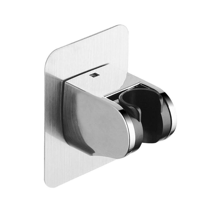 Adjustable Waterproof Adhesive Wall Mounted Shower Head Rack Bracket Holder