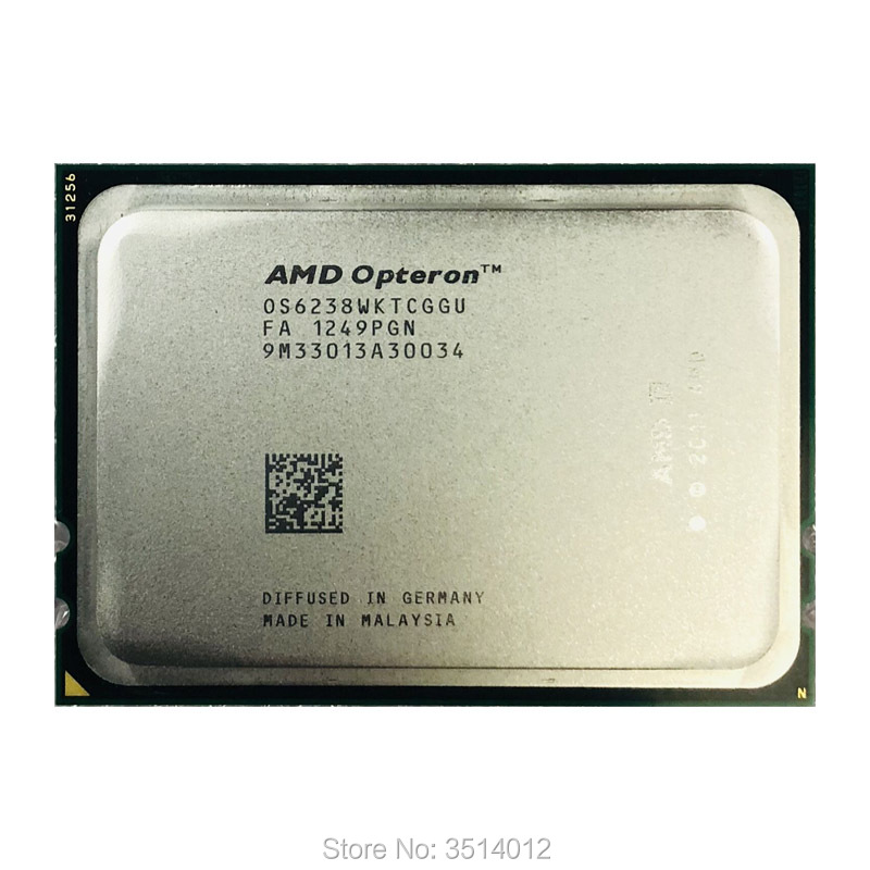 AMD Opteron 6238 Op 6238 de 2,6 GHz 12 Core 12 Hilo de 115 W CPU procesador OS6238WKTCGGU hembra G34-in CPU from Ordenadores y oficina on AliExpress - 11.11_Double 11_Singles' Day 1