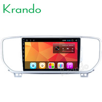 Krando Android 8.1 9 IPS Full touch Big Screen car multimedia player for Kia Sportage 2015+ radio navigation gps BT wifi