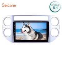 Seicane Android 8,0/8,1 9 1Din автомобиля радио для 2010 2011 2012 2014 2013 2015 Фольксваген Tiguan сенсорный экран мультимедийный плеер