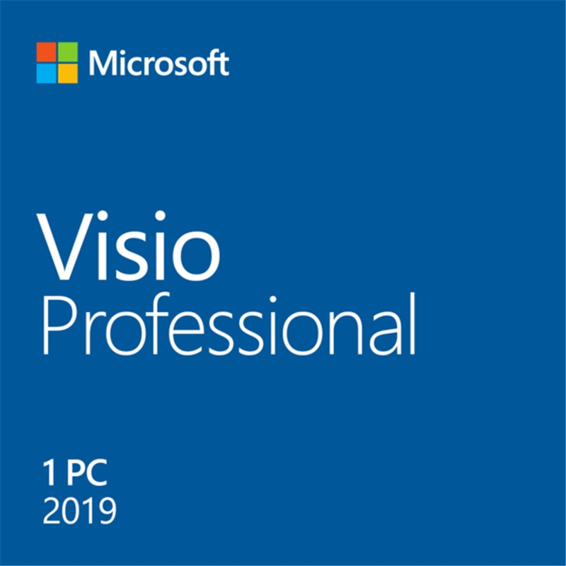 Image 3 - Microsoft Office Visio Professional 2019 For Windows Digital Delivery License 1 User-in Office Software from Computer & Office