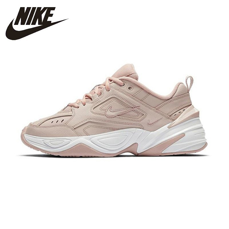 Nike M2k Tekno Clunck Mulher Running Shoes Moda Sapato Tênis Esportivos Respirável Anti-slip Pai # AO3108
