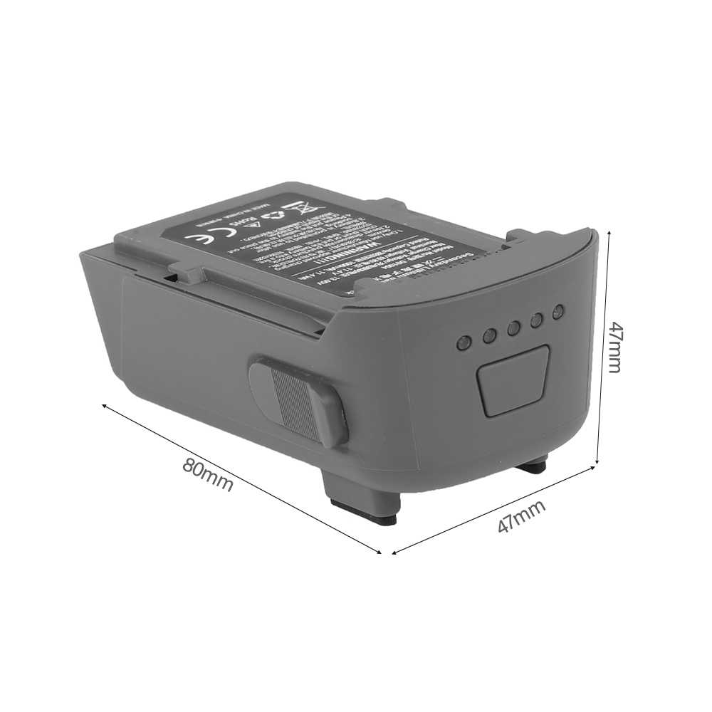JJR/C аккумулятор 11,4 V 1000 mAh модульный Аккумулятор для JJR/C X9/C-FLY Dream RC Квадрокоптер Дрон запчасти