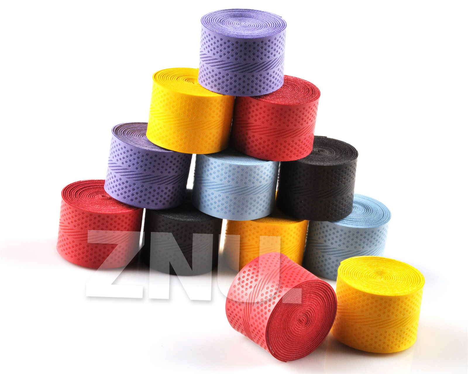 10PCS Sweatband Badminton Tennis Sports Over Grip Griffband Anti-slip Overgrip Racket Outdoor Tape Multicolor Sweat P30