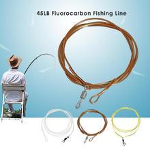 Открытый 1 м леска для карпфишинга 80LB/45LB/30LB фторуглеродная леска установка для волос ядро рыболовные снасти аксессуары рыболовные линии Pesca