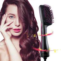 BellyLady Professional Hair Dryer Brush Multi Function Electric Hair Blow Dryer Brush Hair Curling Comb Salon Hair Styler