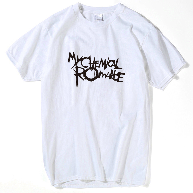 My Chemical Romance 2019 new hipster summer men's   t  -  shirts   letter print funny   t     shirts   brand-clothing top hip hop harajuku