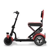 Vehículo Eléctrico plegable para ancianos  triciclo eléctrico para personas con batería de litio  2018