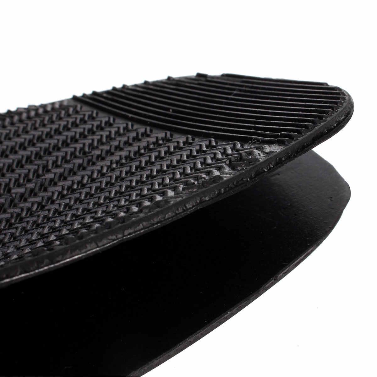 BSAID 1 زوج النعل الخارجي المطاط عدم الانزلاق الرجال حذاء الأمامية DIY عصا على نعال أحذية إصلاح للرجال الأعمال أحذية من الجلد/الأحذية