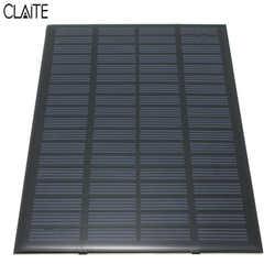 Alta qualidade 18 v 2.5 w policristalino armazenado energia painel solar sistema módulo células solares carregador 19.4x12x0.3cm