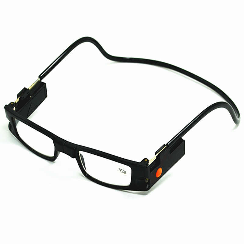 dfa4bbfb5c8 2018 Reading Glasses Presbyopic Readers Magnet Connect Adjustable New  +1.0~+4.0 Fashion Accessories