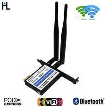 Настольный wifi адаптер Pci-e беспроводной сетевой мини PCI-E карта wi fi адаптер PCI-E X1 интерфейс вайфай приемник для ПК