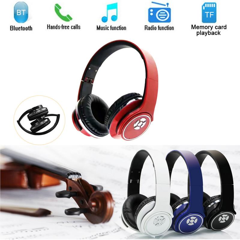 Speaker Wireless Headset 2 in 1 FM Card Multifunction Radio Headphones Audio Input