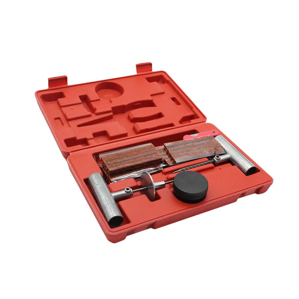 57 Pcs Bandenreparatieset Platte Band Reparatie voor Auto Vrachtwagen Motorfiets Thuis Plug Patch Voor Tesla Model 3 Bmw e46 E90 Ford Focus 2