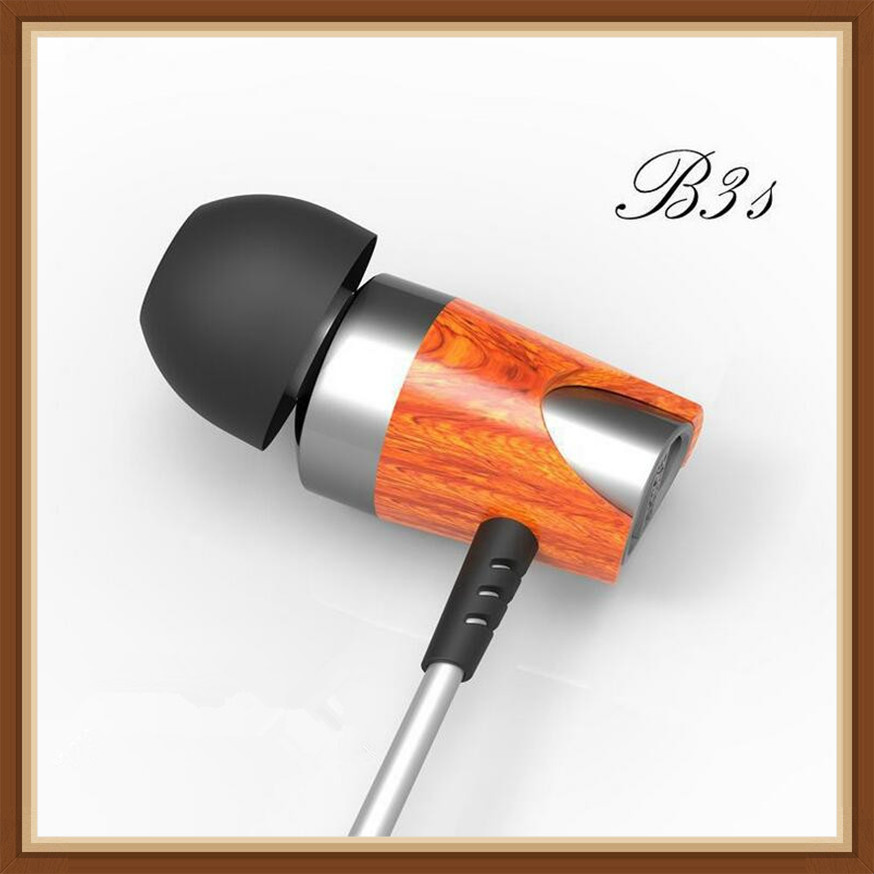 Blon BOSSHIF B3S Dynamic & Armature DD+BA Wood Earbuds Red Moving Iron&Coil In-Ear Earphones DJ Monitor Wooden EarphonesBlon BOSSHIF B3S Dynamic & Armature DD+BA Wood Earbuds Red Moving Iron&Coil In-Ear Earphones DJ Monitor Wooden Earphones