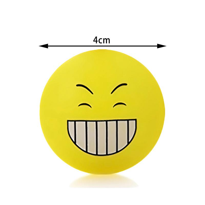 Cute Smile Rubber Silicon Smile Face Emoji Self Adhesive Anti Collision Door Stops Doorstop Safety For Baby Home Decoration