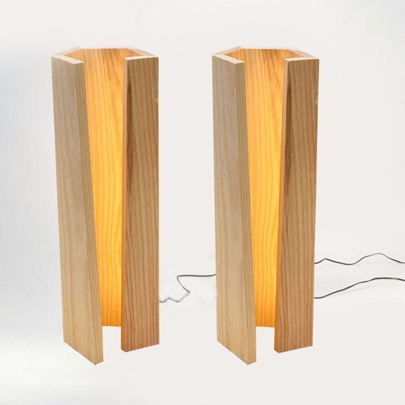 Led Usb veilleuse en bois pour enfants éclairage pour sous les armoires De cuisine lampes De table Led Usb lampe De bureau