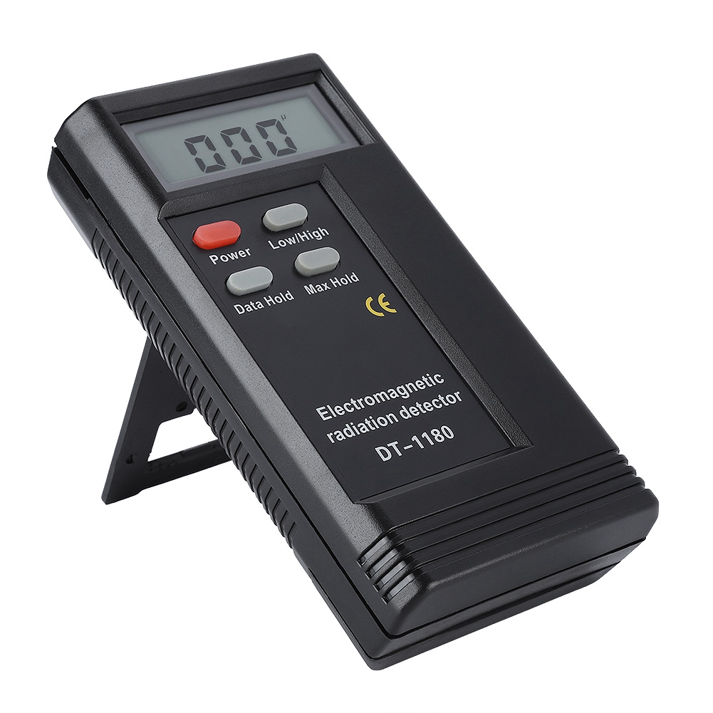 Dual Frequency Electric Magnetic Field Gauss Detector Electromagnetic Radiation Meter High test accuracy