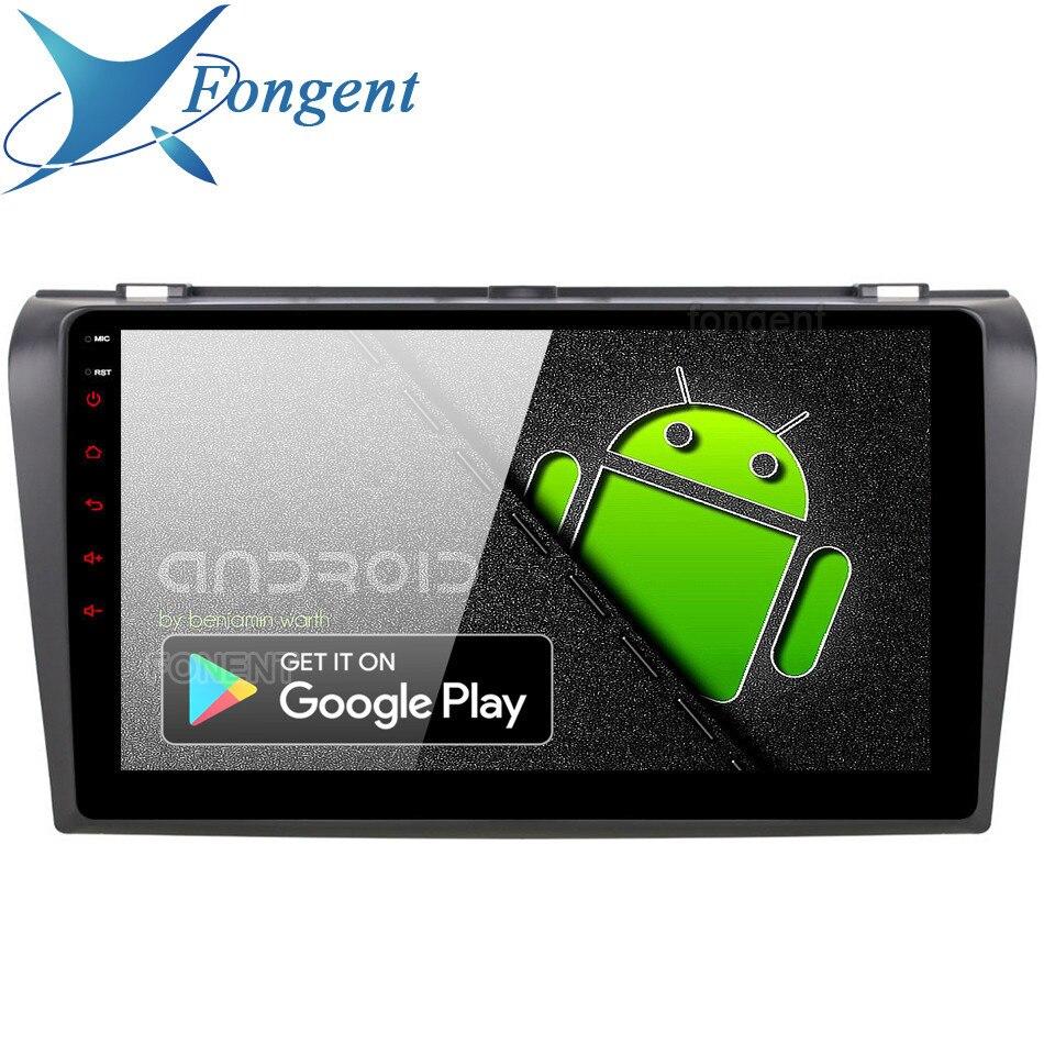 Android 9.0 Unidade para Mazda 3 Mazda3 2006 2007 2008 de Navegação GPS Do Carro de Rádio RDS Radio Multimedia Stereo 4 GB TPMS 64 GB DSP de Áudio