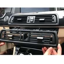 Panneau de tableau de bord avant de voiture couverture de Grille de sortie d'air frais pour BMW 5 F10 F18 pièce de remplacement d'installation de climatisation