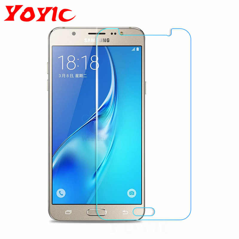 YOYIC 9H Tempered <font><b>Glass</b></font> For <font><b>Samsung</b></font> <font><b>Galaxy</b></font> <font><b>J3</b></font> J5 J7 2015 <font><b>2016</b></font> 2017 J4 J6 <font><b>Glass</b></font> Screen Protector Protective Glasss Film image