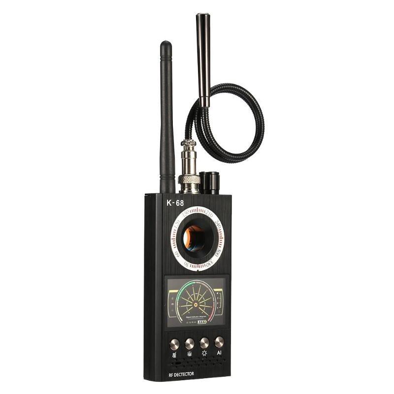 Détecteur de Signal sans fil chaud K68 détecteur de bogue RF détecteur Anti-goutte d'écoute Anti-caméra candide GPS localisateur de suivi livraison directe - 2