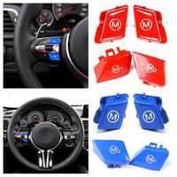 2 adet direksiyon Kişiselleştirilmiş kırmızı düğme M1m2 Modu Düğmesi BMW 2013 2020 için F80 F82 F83 M3 M4 Kabin|Direksiyon ve Kornalar|   -