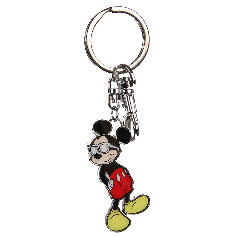 Disney mickey big head key chain pendant key chains ornament new