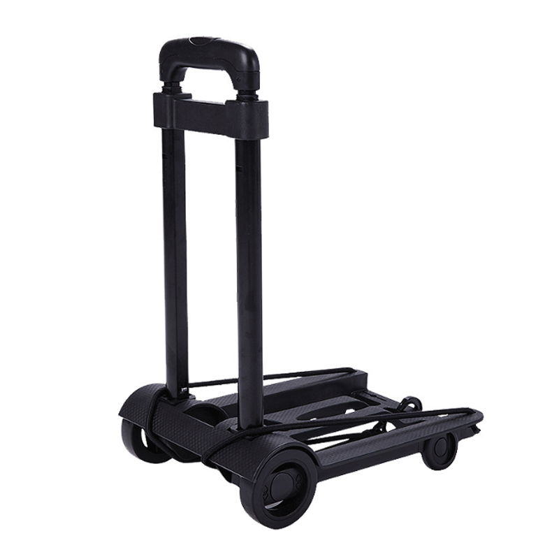 Portable Travel Trailer Aluminum Alloy Car Folding Luggage Cart Household And Ca