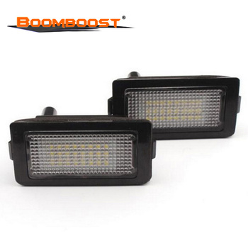 2pcs/lot 24LED For BMW 7 Series E38 740i 740iL 750i 750iL 1994-2001 Tail Light Assembly Car LED License Plate Light 3528SMD image