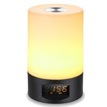 Sunrise Alarm Clock - Digital LED FM Radio for Bedrooms Multiple Nature Sounds Sunset Simulation & Press Control