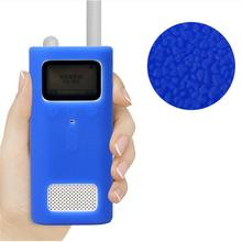 Silicone Soft Shell Smooth Protective Cover Skin Case Anti drop Dust Portable Accessories For Wireless Millet Mijia Smart Walkie